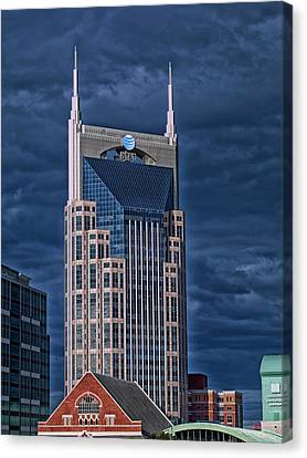 Icons Of Nashville Canvas Print by Mountain Dreams