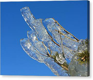 Icy Finger  Canvas Print by Windswept Storm Chase Tours