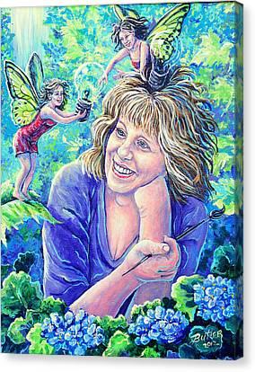 Idealistic Inspiration Canvas Print