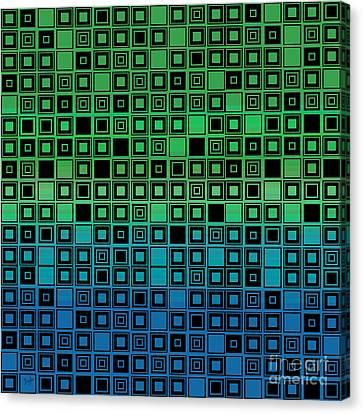 Identical Cells Canvas Print by Bedros Awak