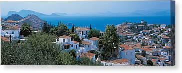 Idra Island Greece Canvas Print by Panoramic Images