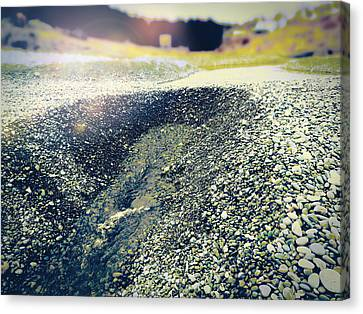 Canvas Print featuring the photograph If It Weren't For The Rocks... by Zinvolle Art