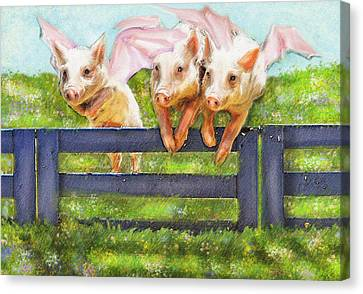 If Pigs Could Fly Canvas Print