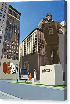 City Canvas Print - If You Dont Know Now You Know by Scott Listfield