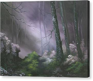 If You Go Down In The Woods Today ? Canvas Print by Jean Walker