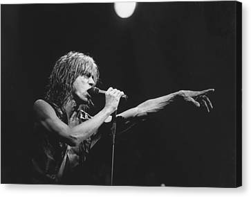 Iggy Pop Live At The Fillmore Canvas Print
