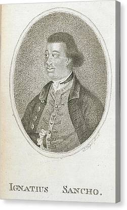 Ignatius Canvas Print - Ignatius Sancho by British Library