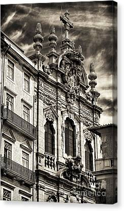 Igreja Da Miscericordia Canvas Print by John Rizzuto