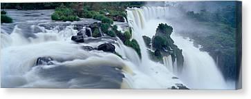 Turbulent Skies Canvas Print - Iguazu Falls, Iguazu National Park by Panoramic Images