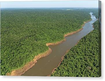 Iguazu River Canvas Print