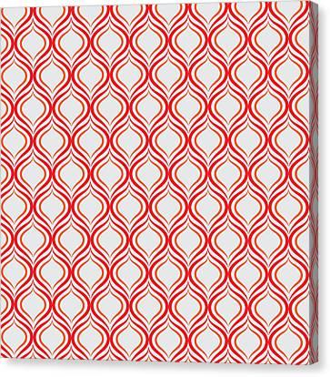 Pattern Canvas Print - Ikat by Jay Hooker