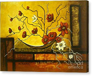 Ikebana II Canvas Print
