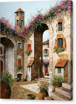 Il Campanile Canvas Print by Guido Borelli