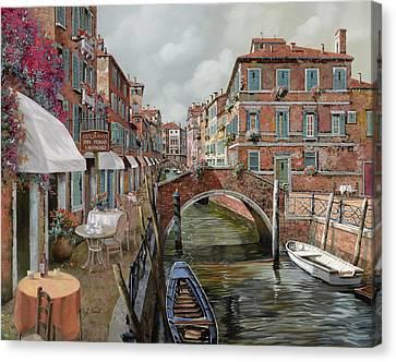 Il Fosso Ombroso Canvas Print