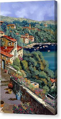 Il Promontorio Canvas Print by Guido Borelli