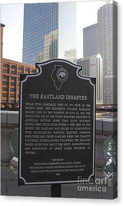 The Interests Of Society Canvas Print - Il001 - The Eastland Disaster by Jason O Watson