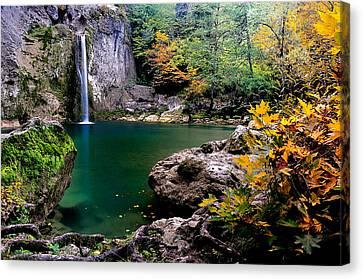 Ilica Waterfall - 2 Canvas Print by Okan YILMAZ