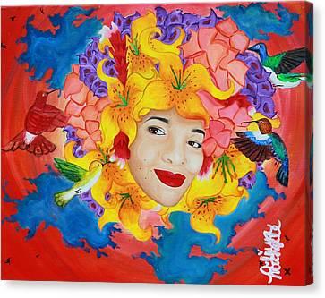 I'll Fly Away Canvas Print by Aliya Michelle