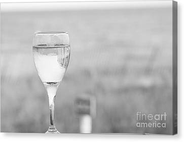 I'll Have A Glass Canvas Print