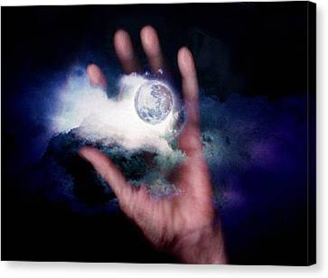 I'll Take Down The Moon For You Canvas Print by Gun Legler