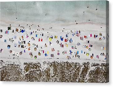 Illetes Beach, Formentera Canvas Print by Xavier Durán