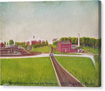 Illinois Bishop Hill Canvas Print by Granger