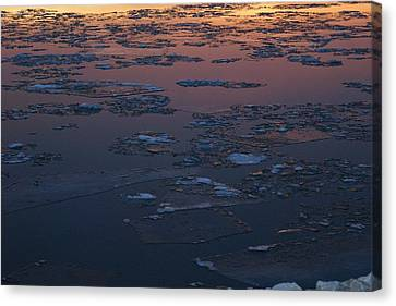 Illinois Floe Canvas Print by Joe Bledsoe