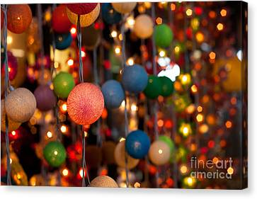 Canvas Print - Illuminated Decoration  by Fototrav Print