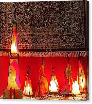 Illuminated Lights Canvas Print