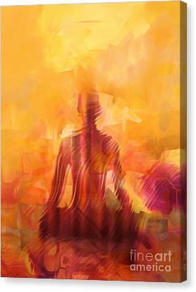 Illuminated Canvas Print by Lutz Baar
