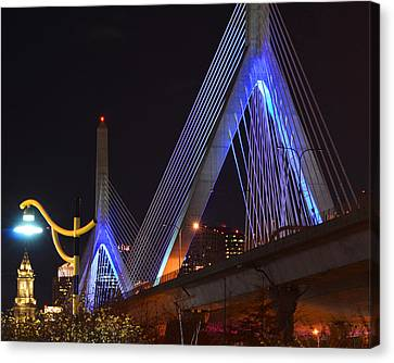 Illuminating Boston Canvas Print by Toby McGuire