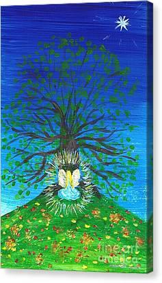 Illumination Canvas Print by Agnieszka Ledwon