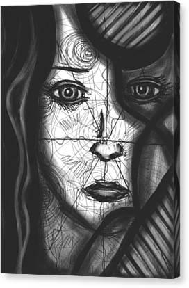 Daina Canvas Print - Illumination Of Self by Daina White