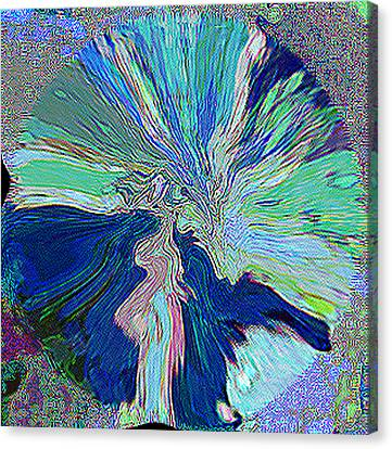 Illumination In Training Canvas Print by RjFxx at beautifullart com