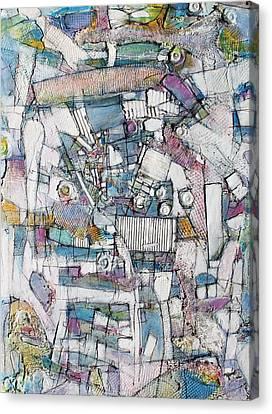 Illusions Along The Way Canvas Print by Hari Thomas