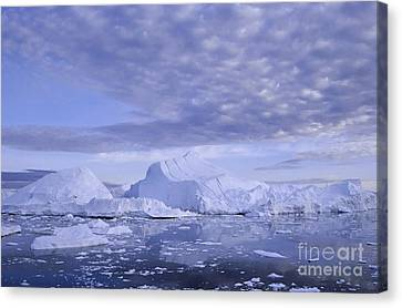 Canvas Print featuring the photograph Ilulissat Icefjord Greenland by Rudi Prott