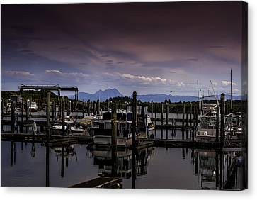 Ilwaco Canvas Print by Jean-Jacques Thebault