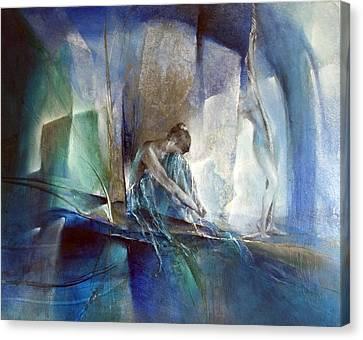 Im Blauen Raum Canvas Print