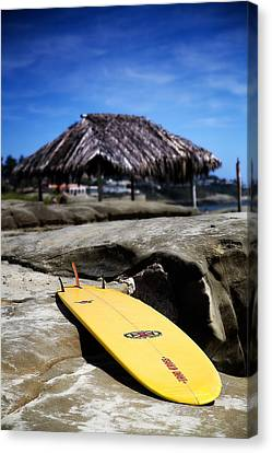 I'm Board Canvas Print by Peter Tellone