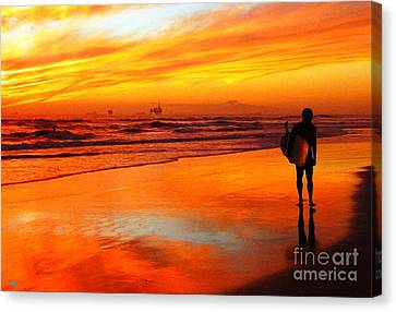 Im Done Canvas Print