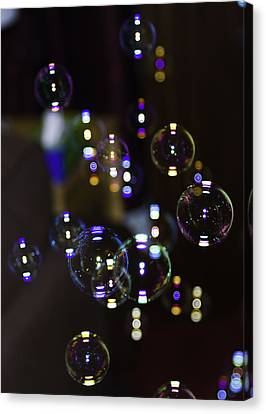 I'm Forever Blowing Bubbles Canvas Print