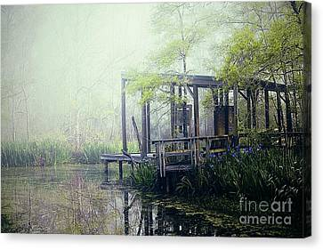 Nature Center Canvas Print - I'm Going Back Someday by Katya Horner