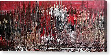 Im Going Up The Rails Canvas Print by Cyryn Fyrcyd
