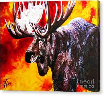 Masterful Canvas Print - I'm No Bambi by Jackie Carpenter