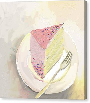 Food And Beverage Canvas Print - I'm Out Of Cake by Cathy Walters
