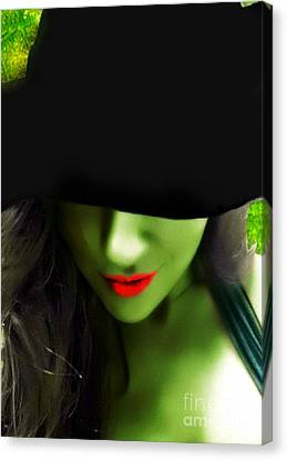 Wicked  Canvas Print by Nicole  Miinch