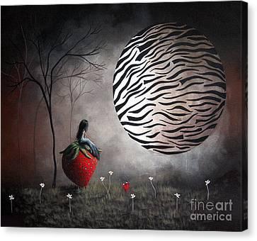 I'm Your Huckleberry By Shawna Erback Canvas Print by Shawna Erback