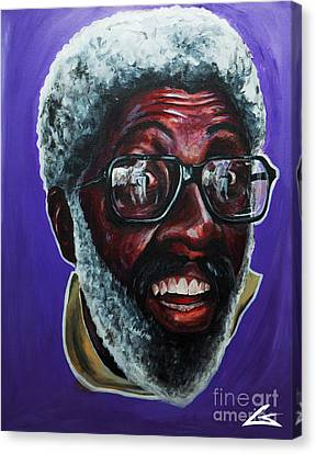 Clippers Canvas Print - Ima Call Him Clay by The Barber Gallery