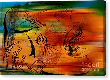 Imagination Canvas Print by Marvin Blaine