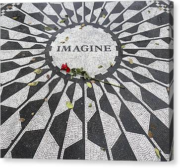 Imagine Mosaic Canvas Print